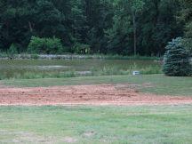 Ground added to level slope