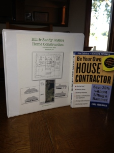 Home Construction Binder