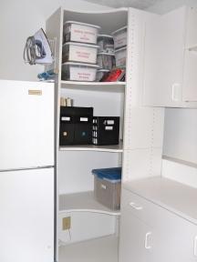 More Laundry Room shelves