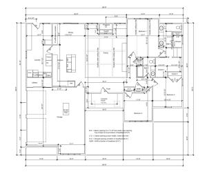 February 2013 floor plans