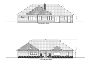 North/South Elevation Plans