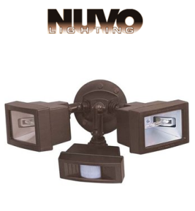 Halogen motion flood lights