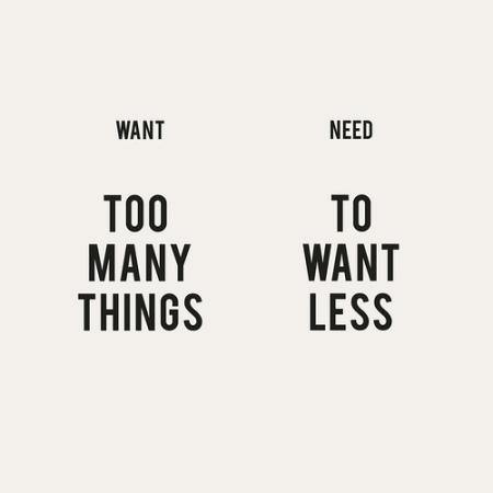 Want Vs Need