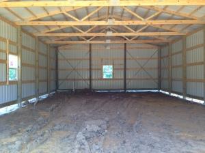 Day 4 - inside of barn
