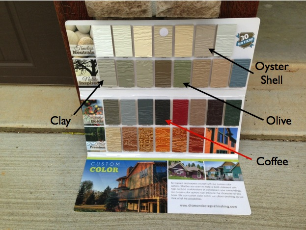 Color Choices for LP SmartSide Siding and Trim
