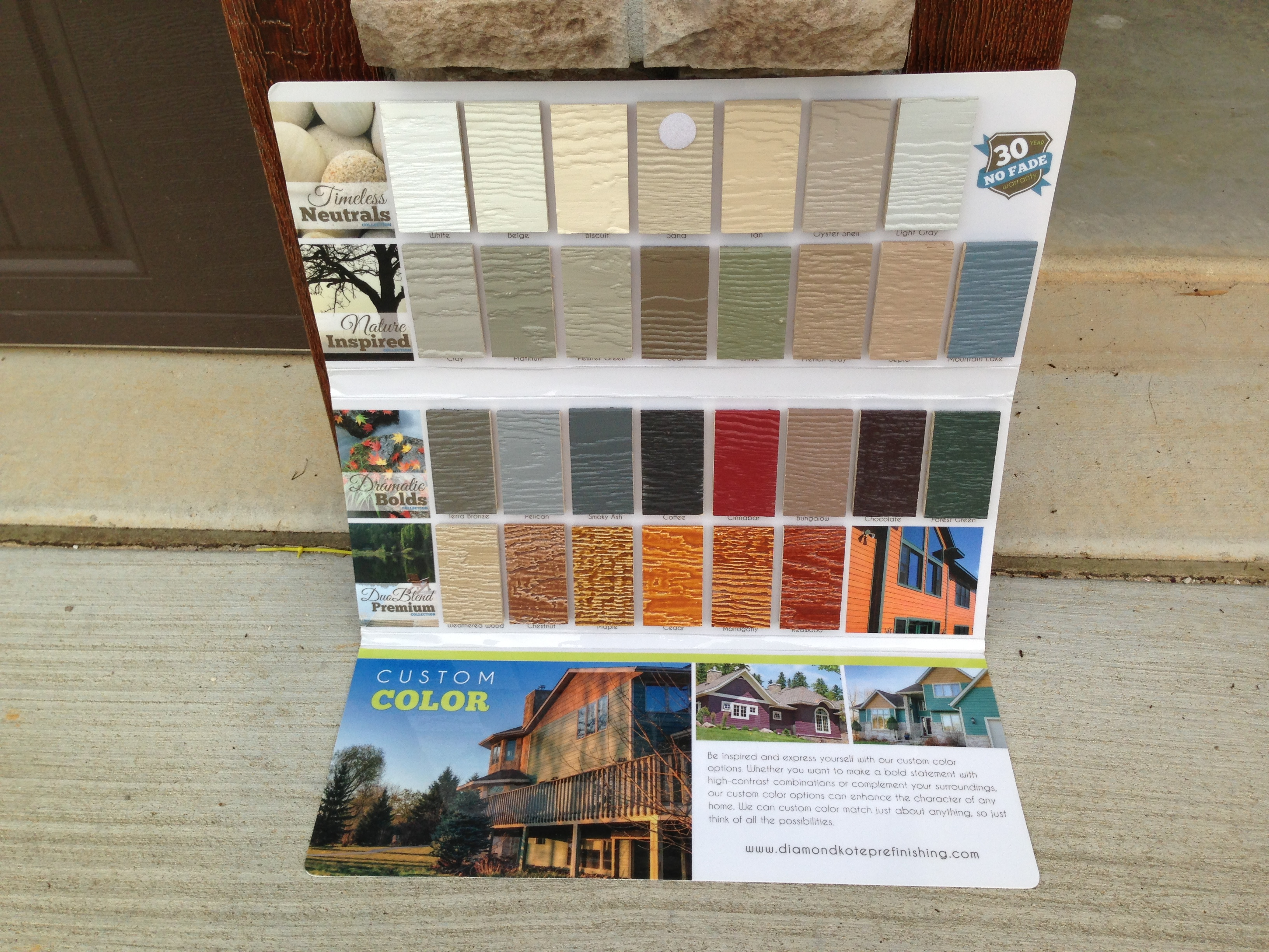 Lp smartside siding colors video search engine at for Diamond kote lp siding colors