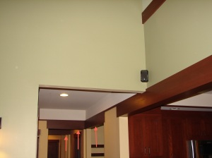 Drop down decorative dividers