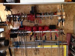 New Clamp rack