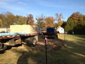 More lumber trucks