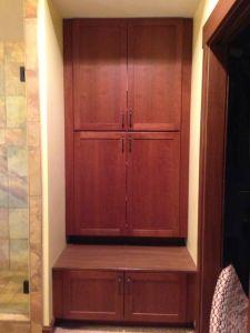 Master Bath Storage Cabinet/Seat