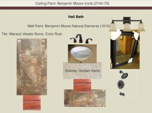 Hall Bath Mood Board