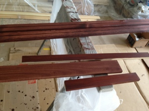 Trim and kitchen cabinet samples