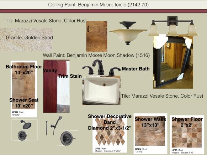 Master Bath Mood Board