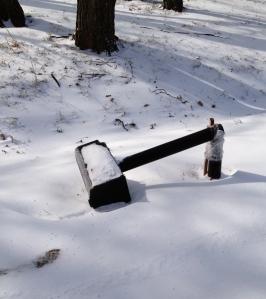 Broken mailbox