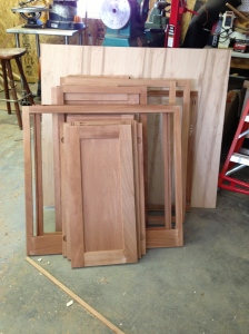 Cabinet doors and frames