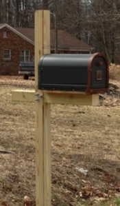 Fancy Schmancy Mailbox