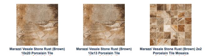 Rust Tile