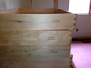 Drawers stamped