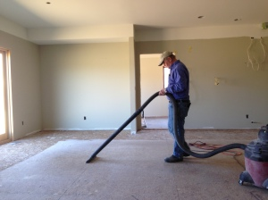 Bill vacuuming