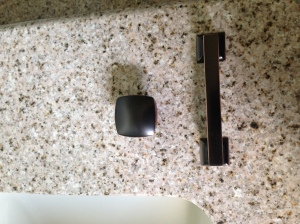 Master Bath cabinet hardware